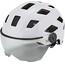 ABUS Hyban+ Bike Helmet white